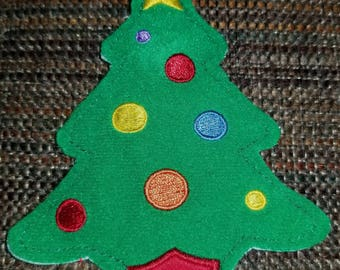 Hallmark Advent Calendar Santa's Workshop Kids #3 Christmas Tree replacement magnet ornament