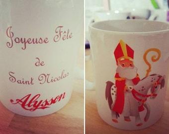 Personalized Santa mug