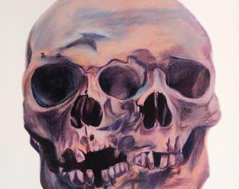 Siamese skull print