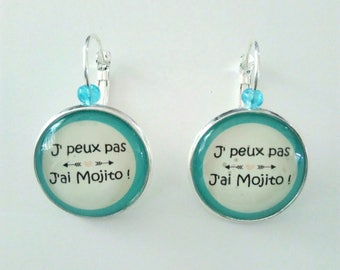 These earrings I can't I mojito