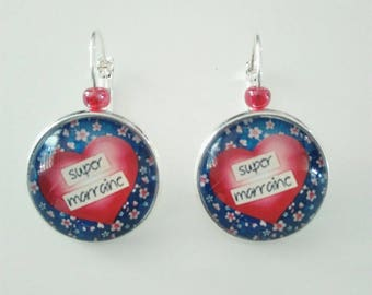 Earrings for a great godmother