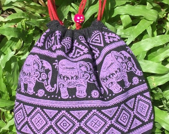 Vintage Bead embroidered bag