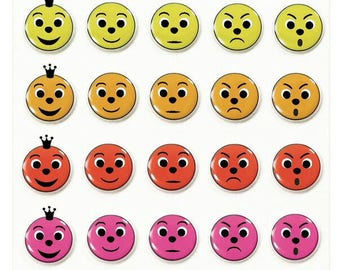 """Stickers Cooky relief """"Ratings"""" x 35 - MAILDOR - Ref 560355"""