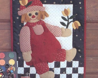 Rag Doll Wallhanging Quilt Kit