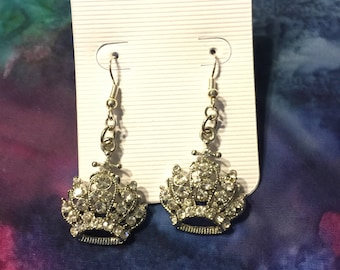Queen's Crown Earrings