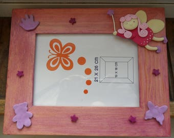 Magical fairy picture frame that glows in the night!