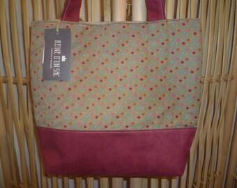 colorful, handmade handbag Tote