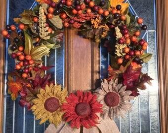 Classic Autumn Wreath