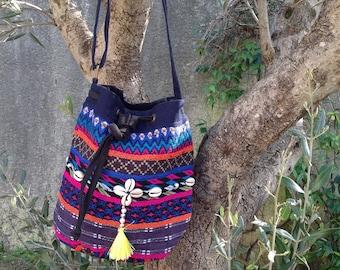 Indian cotton Messenger bag soft