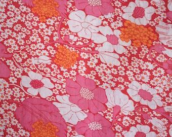 vintage floral duvet cover single duvet cover 70s sheets linen