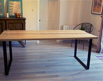 Dining table dining Metal & wood.