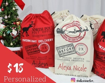 Personalized Santa Sack | Christmas Gift Sack