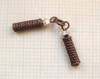 1 charms 2 rigid branches copper 20mm long