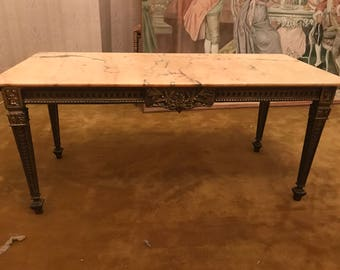 Empire style coffee table