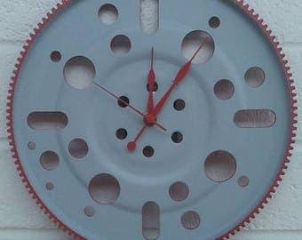 Hand-Made Metal Art Wall Clock