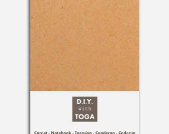 Small notebook blank lined 10 x 15 cm - 80 pages - Toga