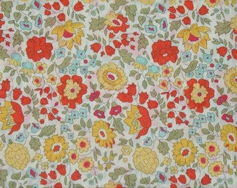 "75cm x 135cm Liberty of London fabric multicolored ""of Anjo""."