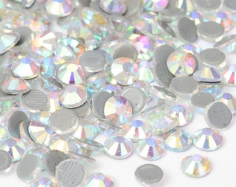 Set of 100 swarovski crystal AB hotfix 4.7 mm (SS20) great quality rhinestones