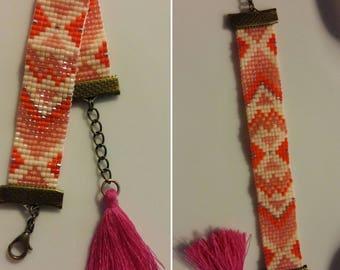 Fashion bracelet - beadwork miyuki delicas