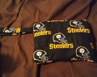 Pittsburgh steelers wristlet