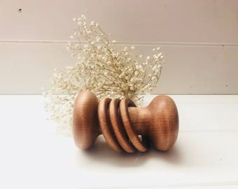 Curly Maple Rattle