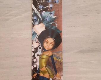 Blue Fairy bookmark