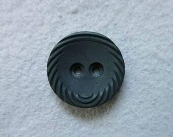 Button black 21 mm
