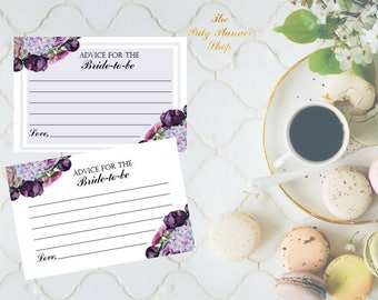 Advice For The Bride To Be Card, Advice Card, Bridal Shower Advice Card