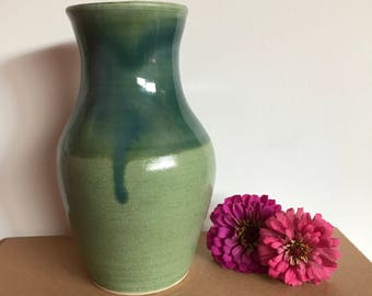 "Green 6"" Vase"