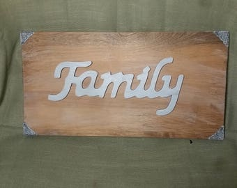 Family_ wall plaque