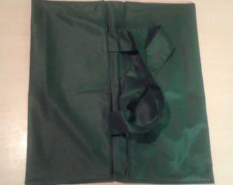 Green reversible pie bag