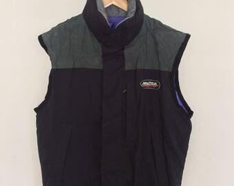 Vintage Nautica Competition Vest Zipper
