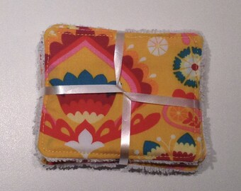 """Hippie"" Washcloths to take care of yourself in softness while respecting the planet"