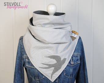 """STYLISH * tube scarf """"Who's flying with?"""""""