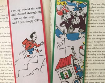 And To Think That I Saw It On Mulberry Street by Dr. Seuss Bookmarks
