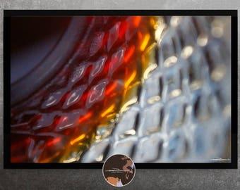 Glass - original texture photo art picture