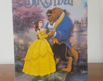 Beauty and The Beast Birthday Card