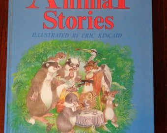 BIG Book of ANIMAL STORIES, Illustrated by Eric Kincaid, 1986