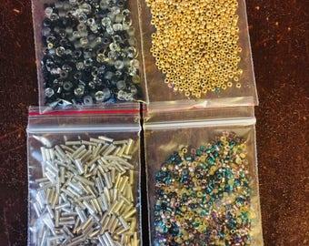 Glass beads seed beads