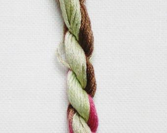 Soso Zarasai - embroidery thread dyed yarn hand - stitch count