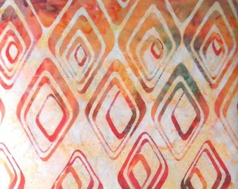 batik patchwork sold par50 fabrics * 55cm