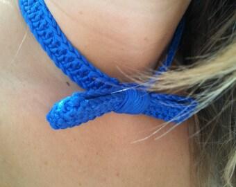Crew neck crochet crochet 100% handmade