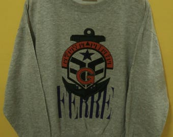 Vintage Sweatshirt Gianfranco Ferre Made In Italy