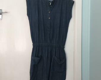 Vintage 1980s Lee Cooper Ladies Denimn Dress