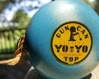 1950's Duncan Genuine Tournament Top Yo-Yo.