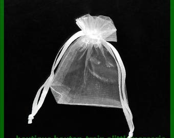 organza bag 7 X 5 cm pouch No. 23 to embellish your gifts