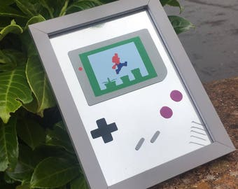 Mario Gameboy Frame