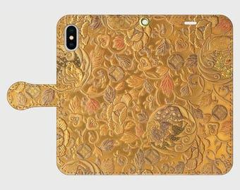 "Wallet phone case ""Genjimonogatari"""