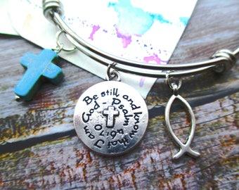Psalm 46:10 Bracelet