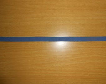 Blue elastic Ribbon of 1 cm wide sold meter